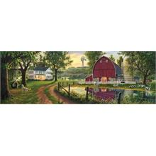 Masterpieces 1000 Parça Panoramik Puzzle The Road Home
