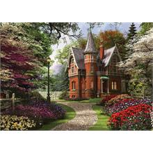 Ks Games 2000 Parça Puzzle Victorian Cottage in Bloom