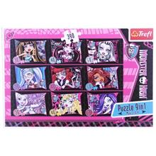 Trefl 9İn1 390 Parça Puzzle Monster High