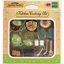 Sylvanian Kitchen Cooking Set Mutfak Pişirme Seti