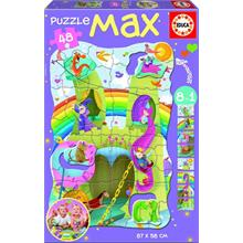 Educa 48 Parça Maxi Boy Puzzle Giant Princesses and Kinghts