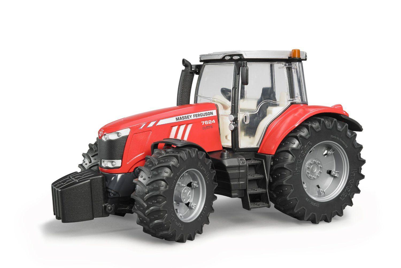 Bruder oyuncak trakt r massey ferguson 7600 03046 - Dessin de tracteur massey ferguson ...