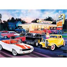 Masterpieces 1000 Parça Hot Rod s Drive In Puzzle
