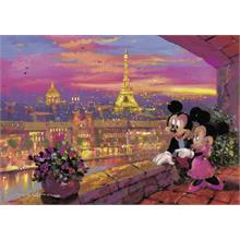 Ravensburger Disney Mickey Mouse Paris 1000 Parça Puzzle
