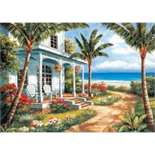 KS Games 500 Parça Puzzle Summer House I (Sung Kim)