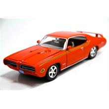 Motor Max 1:24 1969 Pontiac Gto Judge (Turuncu) Model Araba