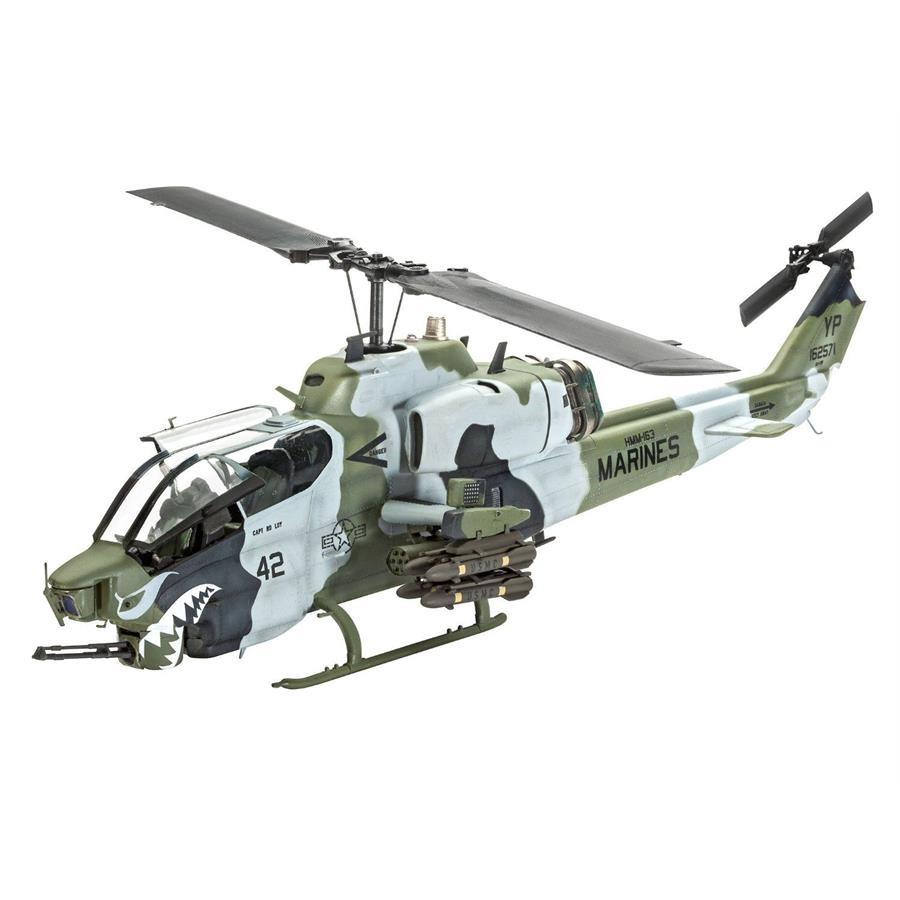 Revell Bell Super Cobra Helikopter Model (1:48 Ölçekli