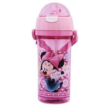 Minnie Mouse Pipetli Şeffaf Matara / Suluk (500 ml)