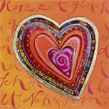 Heye 100 Parça Mini Puzzle (Hearts Of Gold Layers)