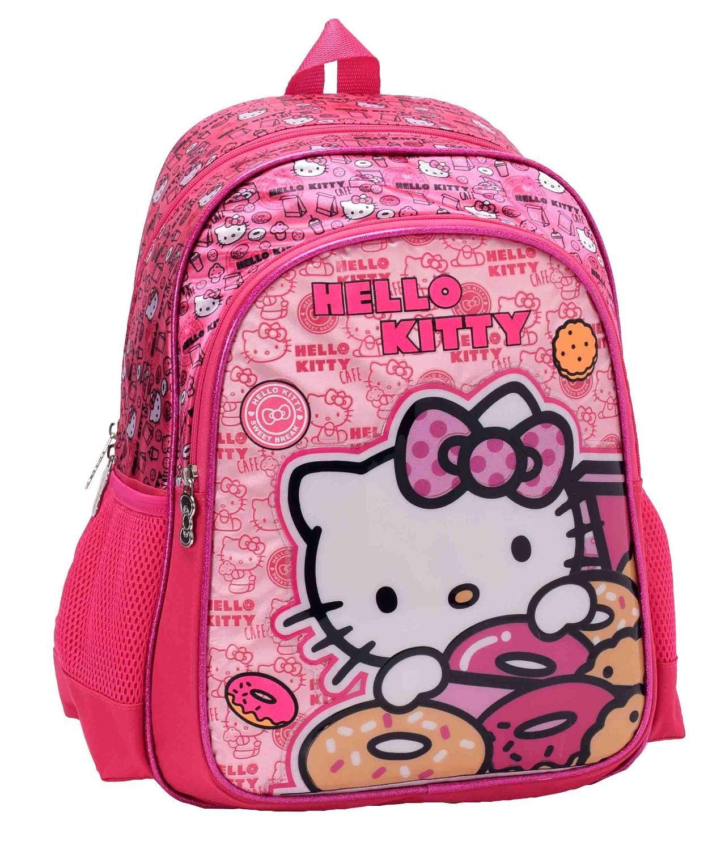 27523135bd8e3 Hello Kitty Baskılı Okul Çantası 87533