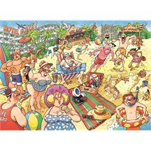 Jumbo 1000 Parça Wasgij 24 Original Puzzle (A Very Merry Holiday)