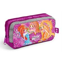 Winx Club Kabartmalı Pop Nature Kalem Çantası