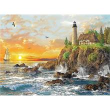 Trefl 3000 Parça Sunset by the Rocky Coast Puzzle