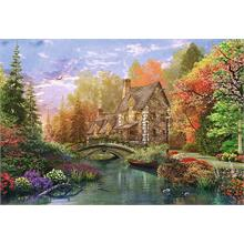 Trefl 1500 Parça Cottage by the Lake Puzzle