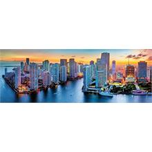 Trefl 1000 Parça Puzzle - Panorama Miami after Dark