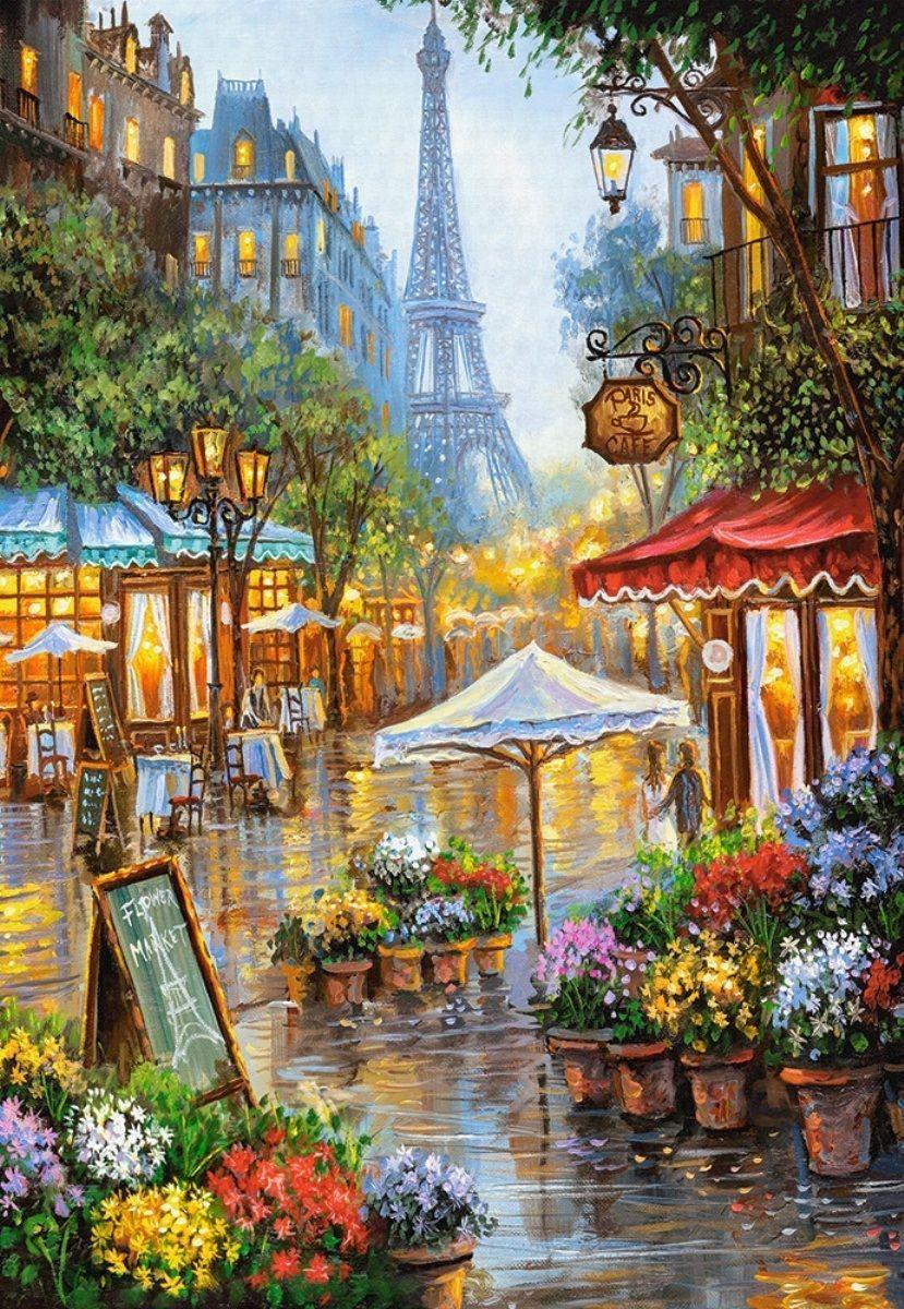 1000 Images About Spa: Castorland Paris Te Bahar Çiçekleri 1000 Parçalı Puzzle