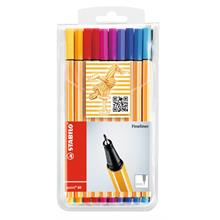Stabilo Point 88 Fineliner Keçeli Renkli Kalem 0.4 mm 20 li Paket