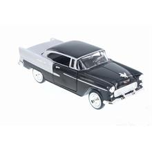 1955 Chevy Bel Air (Siyah) Motor Max 1:24 Model Araba