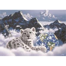Grafika 1000 Parça Bed of Clouds Fantastik Puzzle