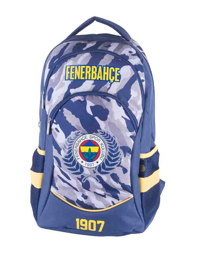 1808e3cf86f16 Fenerbahçe Lisanslı Kamuflaj Desenli Sırt Çantası (Hakan Çanta 88514)
