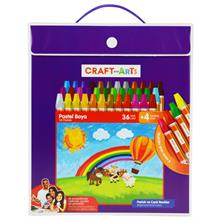 Craft and Arts 36+4 lü Çantalı Pastel Boya - U1536-CK