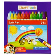 Craft and Arts 24 Renk Pastel Boya - Karton Kutu - U1824