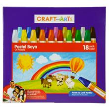 Craft and Arts 18 Renk Pastel Boya Karton Kutu