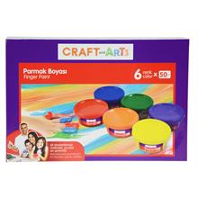 Craft and Arts 6x50 ml Parmak Boya - U1567-KRS
