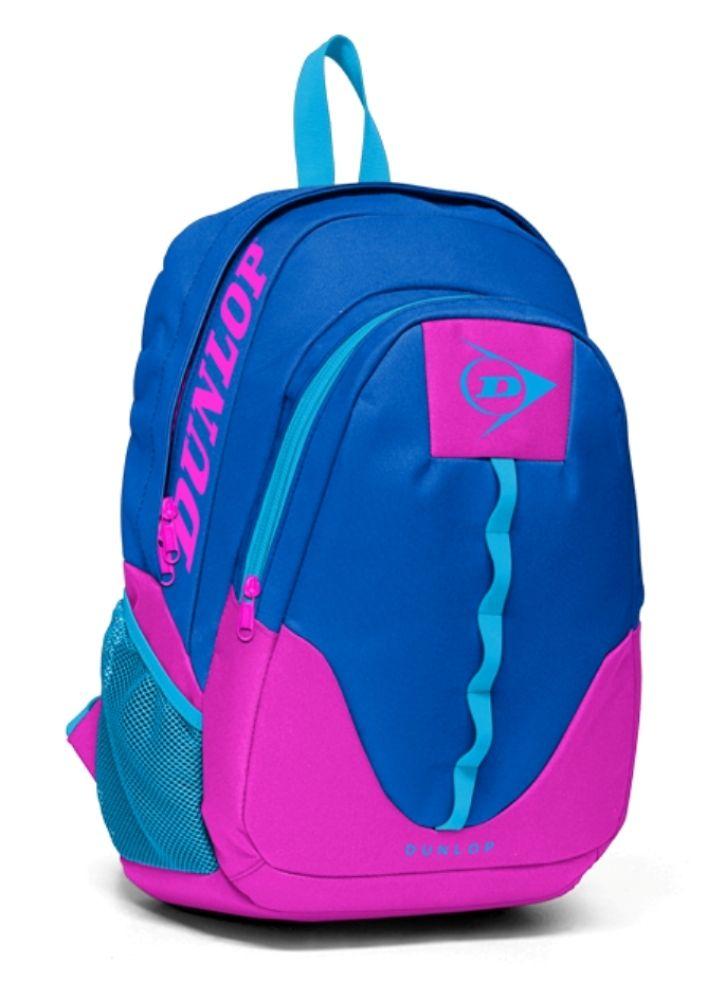 bce85eaf8b917 Dunlop İki Bölmeli Mavi-Fuşya Kız Çocuk Okul Çantası