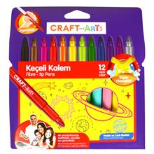 Craft and Arts Jumbo Keçeli Kalem 12 li