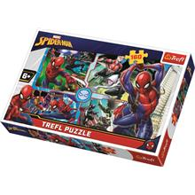 Trefl 160 Parça Spiderman To The Rescue Marvel Puzzle