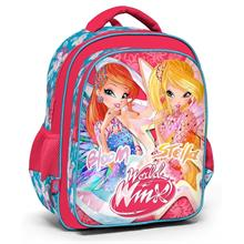 Winx Club 63265 Pembe İlkokul Sırt Çantası - Bloom ve Stella