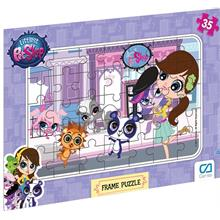 CA Games Littlest Pet Shop 35 Parça Frame Puzzle - 5018