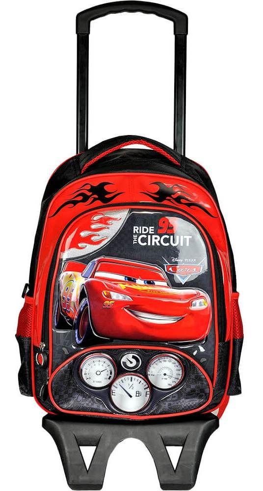 fcfd075ab7966 Disney Cars Tekerlekli Çekçek Okul/Sırt Çantası 95361