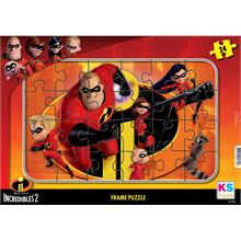 The Incredibles 24 Parça Frame Puzzle