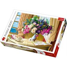 Trefl 10526 Flowers In The Morning 1000 Parça Puzzle