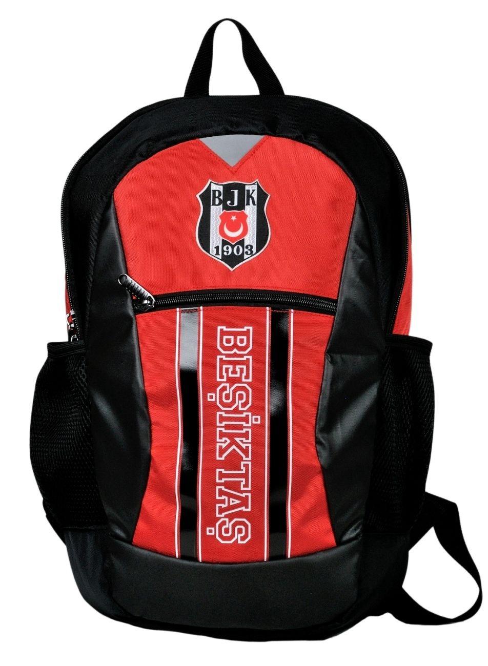 526b14914b3d5 Hakan Çanta Beşiktaş Kırmızı/Siyah Sırt Çantası - 96114