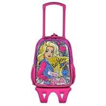 3f0dd2bb3aed6 Barbie Simli Parlak Çekçek Okul Çantası - 95992