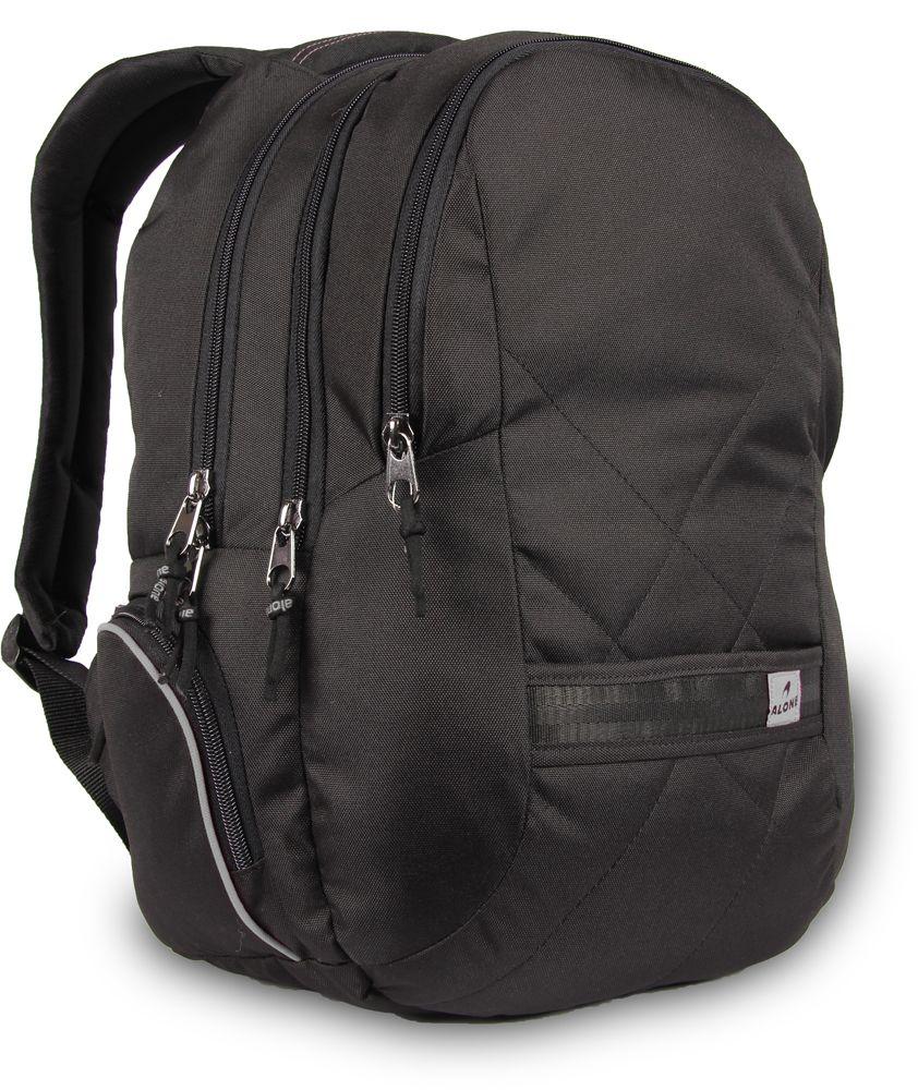 f5bf86c3b3cd1 Alone Siyah Laptop Bölmeli Günlük ve Okul Sırt Çantası - 8561