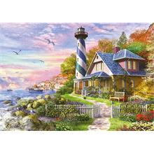 Educa 4000 Parça Lighthouse At Rock Bay Puzzle
