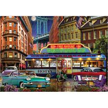 Ks Games 1500 Puzzle Rickeys Diner - David Maclean Puzzle
