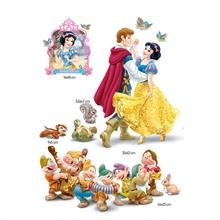 Twin Seven Maxi Sticker Disney Pamuk Prenses Ve Yedi Cüceler