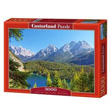 Castorland 3000 Parça Puzzle Lake in the Alps, Austria