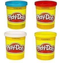Play Doh 4 lü Oyun Hamuru No:3 Model 1