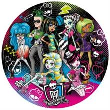Clementoni Monster High 500 Parça Yuvarlak Puzzle Best Ghoul Friends