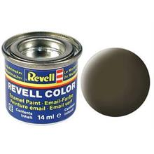Revell Black-Green Mat 14 ml Maket Boyası