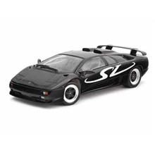 Welly 1:18 Model Araba Lamborghini Diablo SV Siyah
