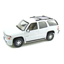 Welly 1:18 Diecast Model Araba 2001 GMC Yukon Denali Beyaz
