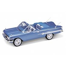 Welly 1:18 Ölçek Model Araba 1960 Chevrolet Impala Mavi