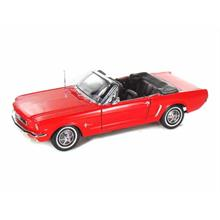 Welly 1:18 Model Araba 1964 1/2 Ford Mustang Convertible Kırmızı